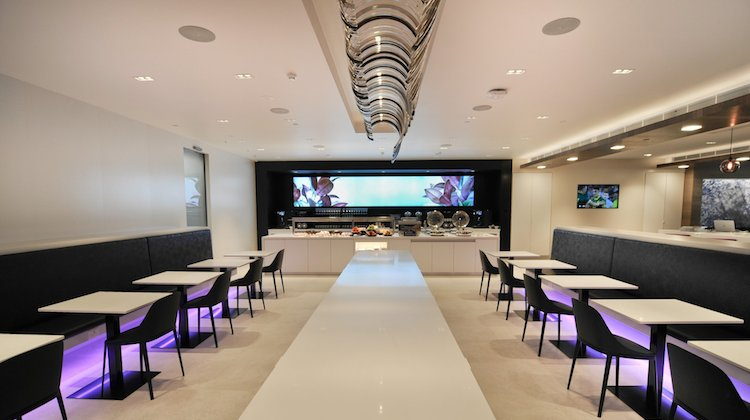 Air New Zealand's new Perth premium passenger lounge. (Air New Zealand)