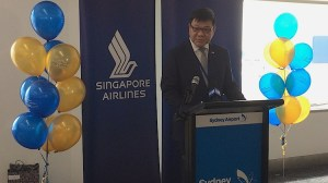 The Singapore High Commissioner to Australia Kwok Fook Seng.