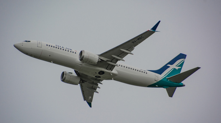 Silkair flies the Boeing 737 MAX 8 between Darwin and Singapore. (Sid Mitchell)
