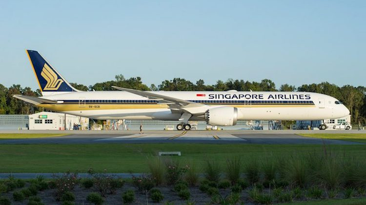 Boeing Commercial Airplanes' highlights for 2018 includes the upcoming first delivery of the 787-10 to launch customer Singapore Airlines. (Boeing)
