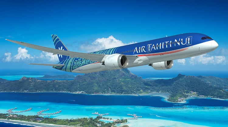 Air Tahiti Nui flies to four destinations. (Air Tahiti Nui/Twitter)