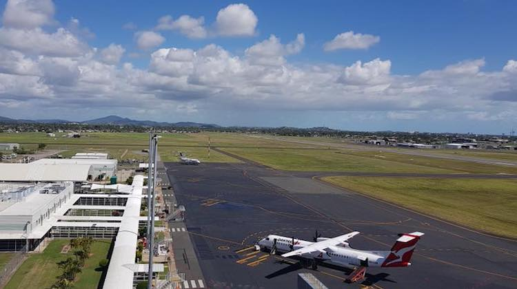 Mackay Airport hopes to land the Qantas pilot academy. (Mackay Airport)