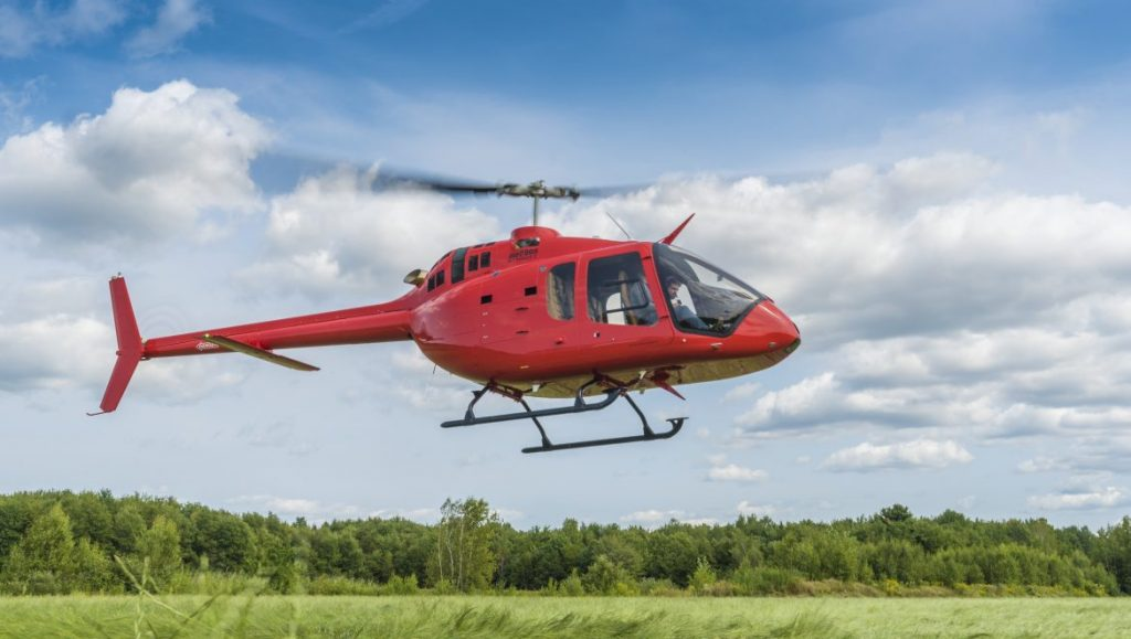 Sticker price for a new Bell 505 is around US$1.25 million. (Bell)