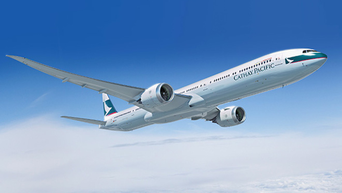 Cathay Pacific was the first Asia-based airline to sign up for the 777X. (Cathay Pacific/Boeing)