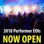 2018 National Folk Festival Performer Applications
