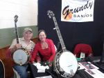 Grundy Banjos Head to IBMA