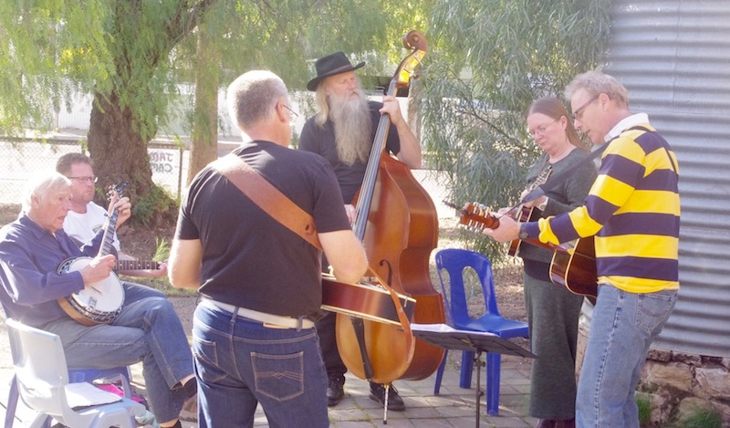SA Bluegrass Jam Sessions Up and Running