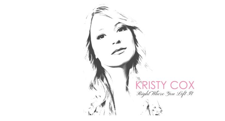 New Release For Kristy Cox – Right Where You Left It