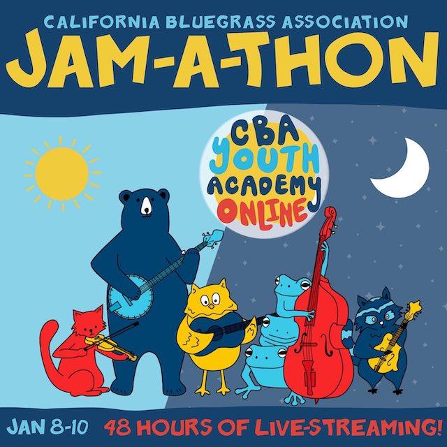 California Bluegrass Association Jam-a-Thon