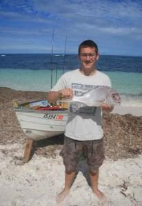 cervantes fishing