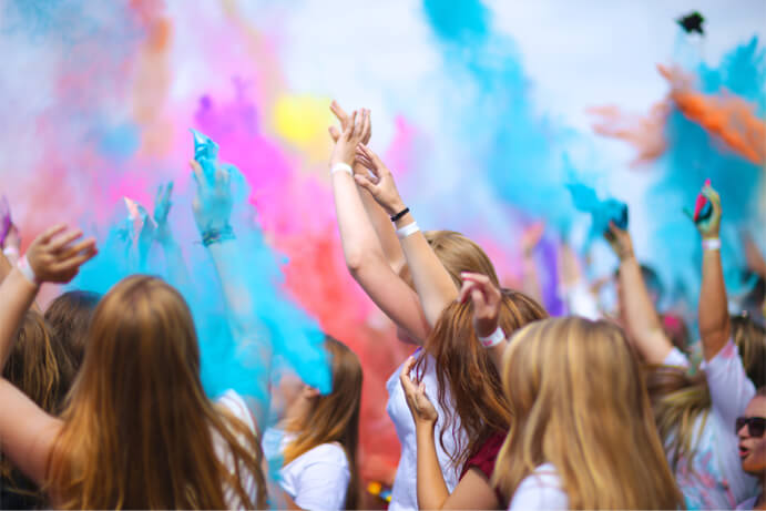 School Colour Explosion™ Run image
