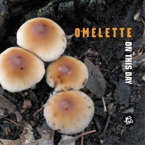 Omelette On this Day cover