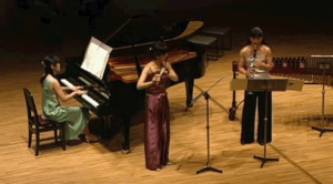 Becoming | flute - Hisae Kido, clarinet - Miki Kido, piano -Eri Yoshimura