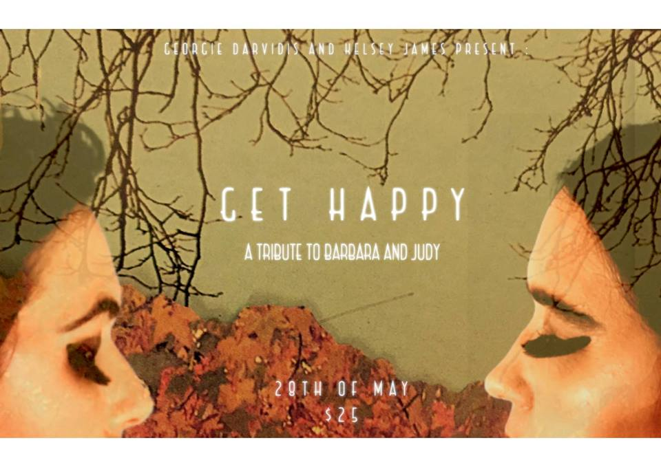 Review: Get Happy - Kelsey James and Georgie Darvidis @ the Paris Cat Jazz Club