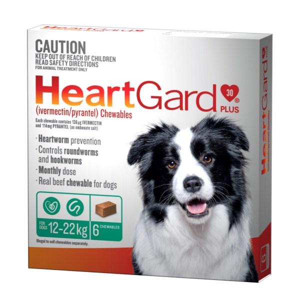 Heartgard Plus Medium 6 Pack