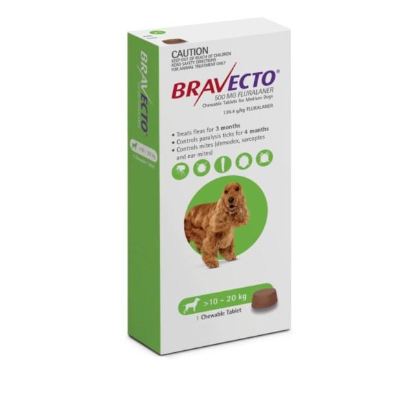 Bravecto Chew Medium Dog