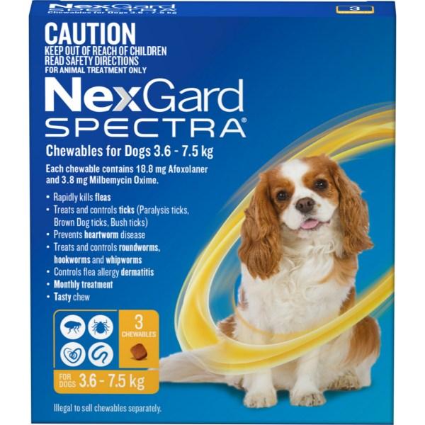 NexGard Spectra Small Dog 3 Pack