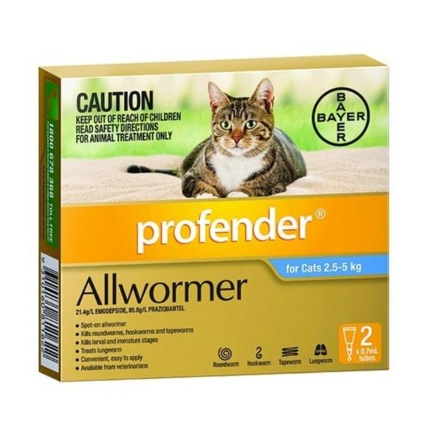 Profender Small Cat 2 Pk