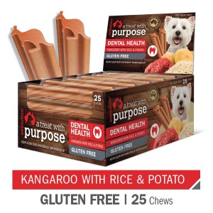 Evolution Kangaroo with Rice & Potato Dental Chews