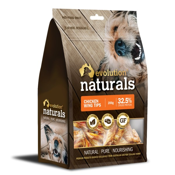 Naturals Chicken Wing Tips 200g