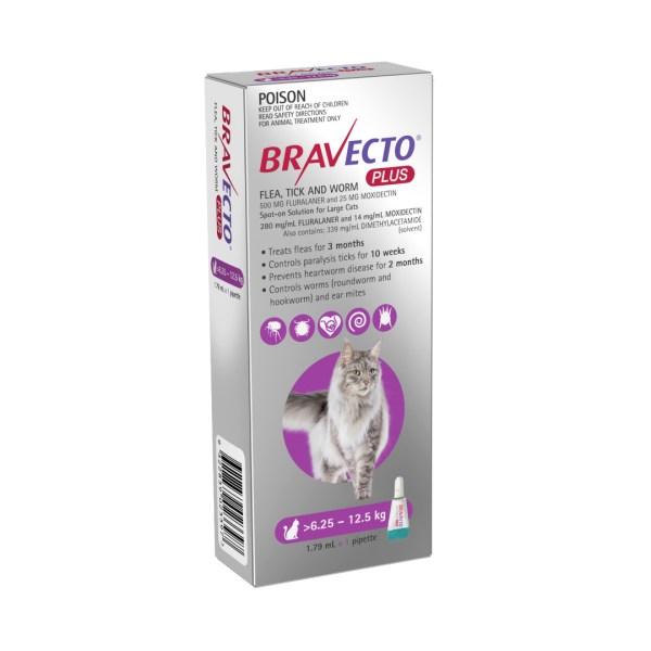 Bravecto Plus Spot-on Large Cat