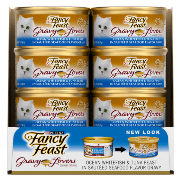 Fancy Feast Gravy Lovers Ocean Whitefish & Tuna