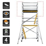 Scaffold Extension Kit 4.0m