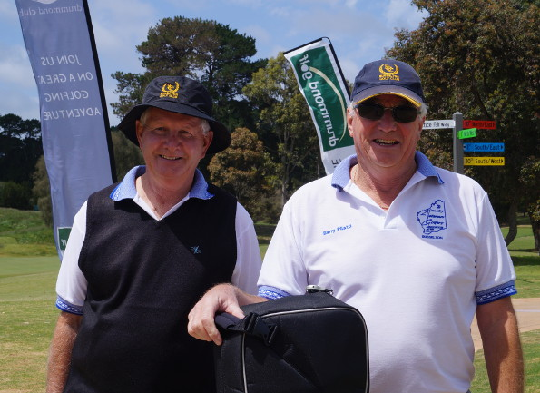 Veteran golfers participating in the 2012 AVGU National Championships conducted on Victoria's Mornington Peninsula