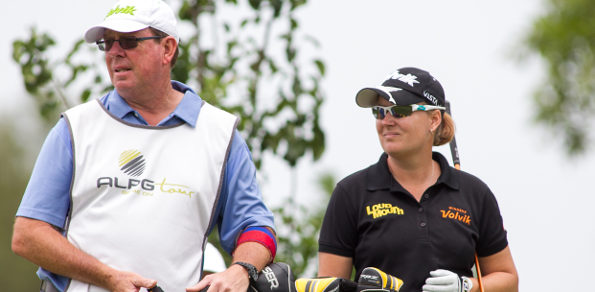 Canning in happier caddying times with Lindsey Wright