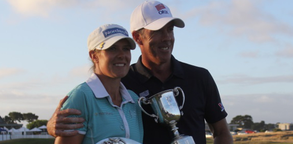 Defending Champions Richard Green and  Norway's Marianne Skarpnord