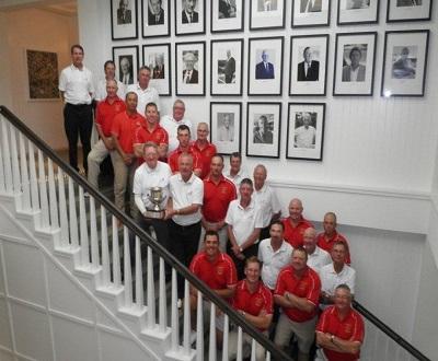 The 2015 ADF and Golf Australia Senior teams