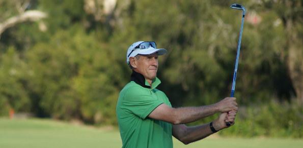 Greg Rhodes – current leader on the Australian Senior Ranking table