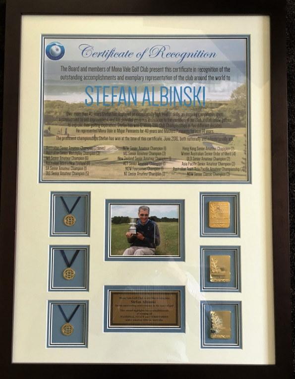 Stefan Albinski award 595 large