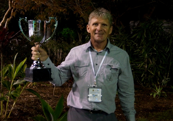 "The Top End's Tom Harold overcomes a ""freezing"" Gold Coast to claim 2nd national vets championship title"