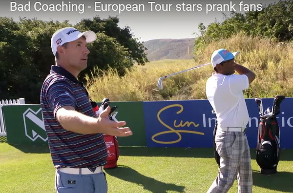 Would you accept coaching from these famous golfers?