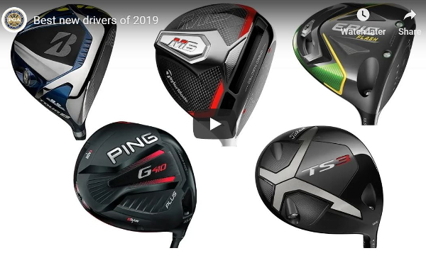 Best new golf drivers 2019: Video