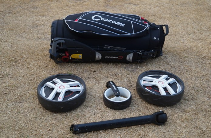 Concourse Smart Wheel bag and buggy