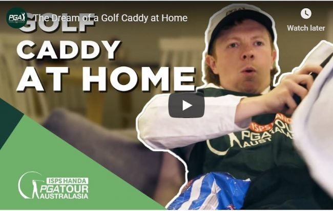 The Dream of a Golf Caddy at Home