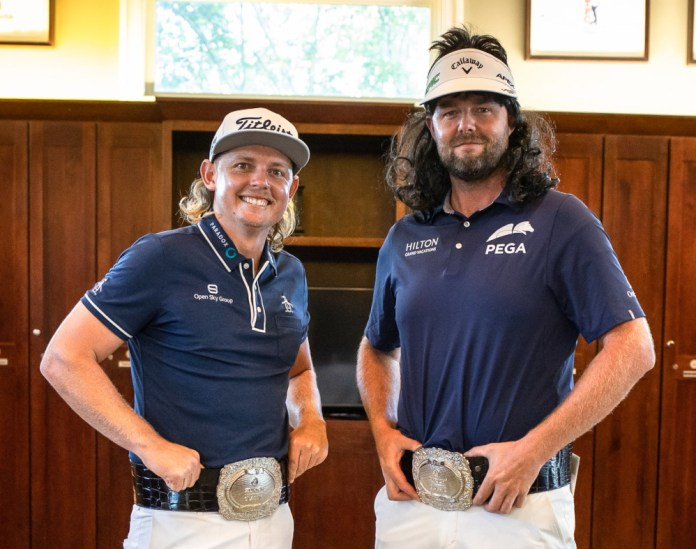 Oh No! Australian golf's 'Team Mullet' aspiring for Olympic gold