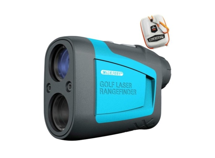 Mileseey PF210 Laser Rangefinder: Take the guesswork our of your golf game with this great value unit