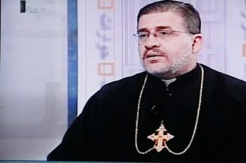 Priest interviewed, Syrian TV