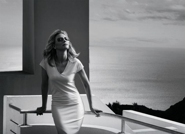 """Cate Blanchett for the new """"Titan Minimal Art"""" collection by Silhouette ©Peter Lindbergh"""