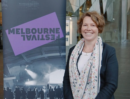 Melbourne Festival Executive Director, Katie McLeish. Source: supplied