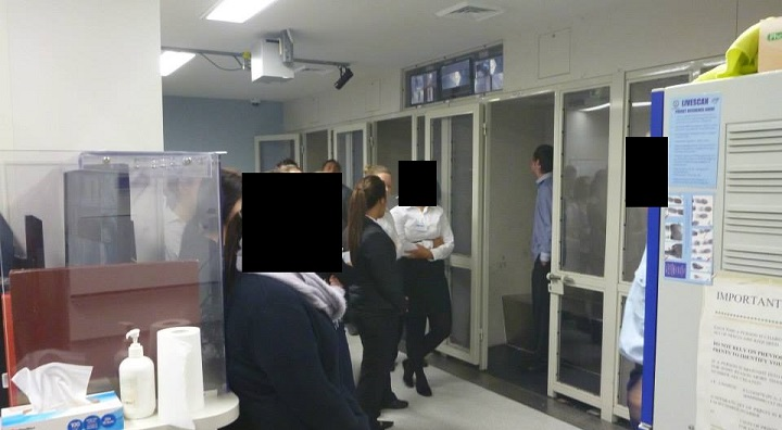 The cells at Campbelltown Police Station. Source: www.facebook.com/CampbelltownLAC