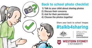 Parents urged to #talkb4sharing pictures of children on the internet