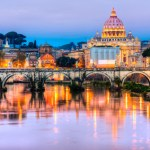 Rome, Saint Angel Castle St. Peter and Vatican, Italy