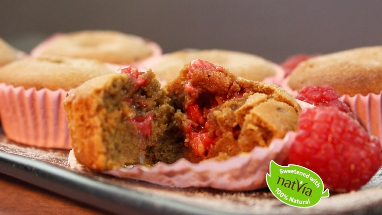 Free Recipe: Gooey Raspberry Cupcakes