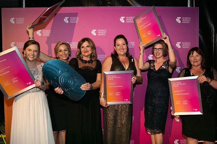National winners of the 2017 Telstra Business Women's Awards