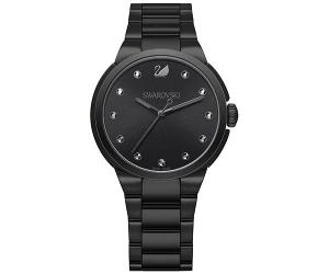 Swarovski City Black Bracelet Watch White