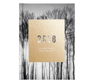 2018 A5 WELLBEING WEEKLY DIARY: INSPIRATION